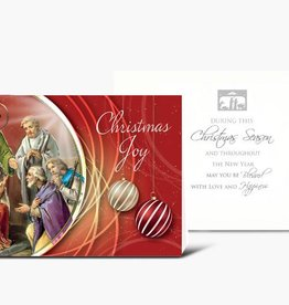 WJ Hirten Holy Family With Shepherds Christmas Cards