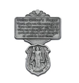 McVan Police Officer Prayer Visor Clip