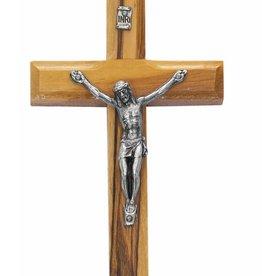 "McVan 3 1/2"" Olive Wood Crucifix"