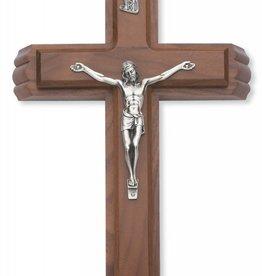 "McVan 13"" Walnut Sick Call Crucifix"