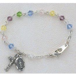 McVan Multi-Color Crystal Baby Bracelet