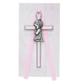 "McVan 3 1/2"" Pink Girl Crib Cross"