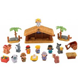 Fisher Price Fisher Price Little People Deluxe Christmas Story Nativity