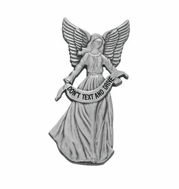 "McVan ""Don't Text & Drive"" Angel Visor Clip"