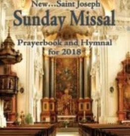 Catholic Book Publishing Corp 2018 St. Joseph Annual Sunday Missal