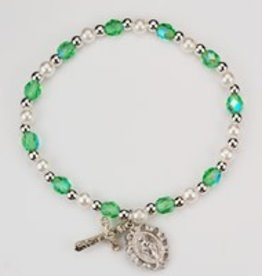 McVan August Child Birthstone Stretch Bracelet