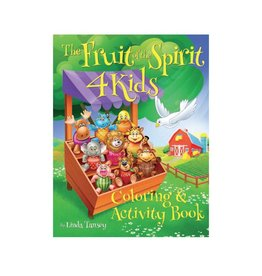 ABC Spirit The Fruit of the Spirit 4 Kids - Coloring and Activity Book