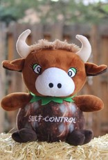 ABC Spirit The Fruit of the Spirit 4 Kids - Self Control, The Coconut Bull Stuffed Animal