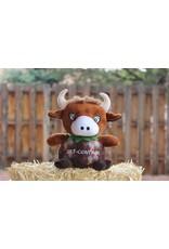 ABC Spirit The Fruit of the Spirit 4 Kids - Self Control, The Coconut Bull Stuffed Animal