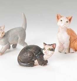 Cats For Nativity Scene