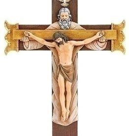 "Joseph's Studio 10.25"" Holy Trinity Crucifix"
