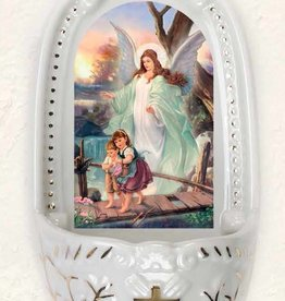 Lumen Mundi Guardian Angel Holy Water Font