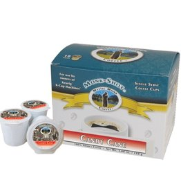 Mystic Monk Coffee Mystic Monk Shots - Candy Cane 10ct.