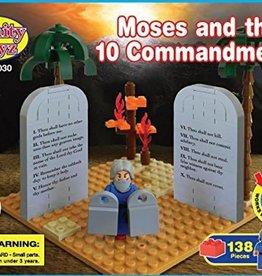 Trinity Toyz Trinity Toyz Moses and the 10 Commandments Building Block Set