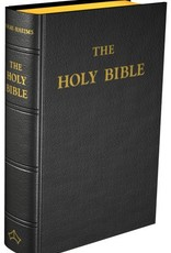 Baronius Press Douay-Rheims Bible (Standard size) Black Leather