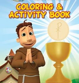 Herald Kids Brother Francis The Bread of Life Coloring & Activity Book