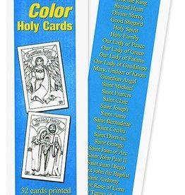 WJ Hirten Cut & Color Holy Cards