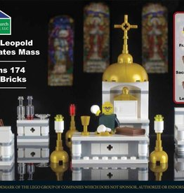 Domestic Church Supply Company Father Leopold Lego Mass Kit