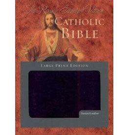 Scepter Publishers RSV Catholic Bible, Large Print Edition Indexed
