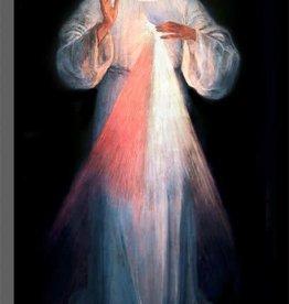 "Nelson Fine Art Floor Sample - 8 X 16"" Vilnius Divine Mercy Plaque"