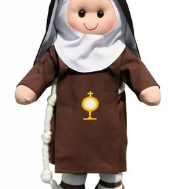 ABCatholic Sister Cecilia a Poor Clare of Perpetual Adoration Nun Doll