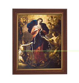 """Christian Brands 10 x 12.5"""" Mary, Untier of Knots Framed Print"""
