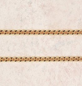 "McVan 27"" Heavy Gold Plated Chain"