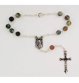 McVan 6mm India Agate Auto Rosary