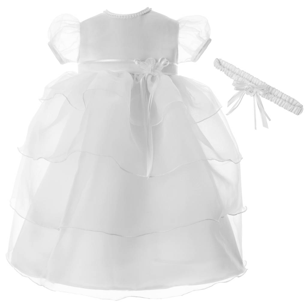 Girl\'s Baptism Dress [1380] - Queen of Angels Catholic Store