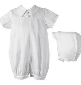 Lauren Madison Boy's Baptism Shorts Clothing Set [1437]
