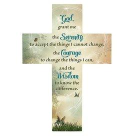 Christian Brands Serenity Prayer Wall Cross