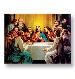 "WJ Hirten 19"" x 27"" The Last Supper Poster"