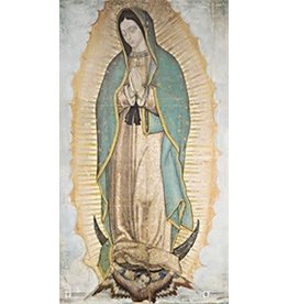 "Marian Press 14"" x 24"" Our Lady of Guadalupe Poster"