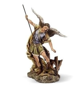 "Roman, Inc 12"" St. Michael Statue"