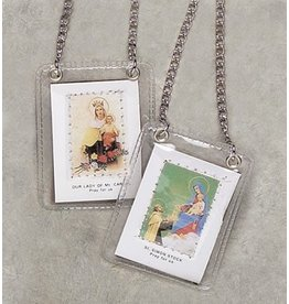 Devon Trading Company Laminated Scapular with Chain