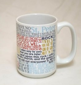 Catholic to the Max Quote Mug