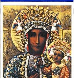 """WJ Hirten 8"""" X 10"""" Our Lady of Czestochowa (Print Only)"""