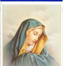 "WJ Hirten 8"" X 10"" Our Lady of Sorrows (Print Only)"