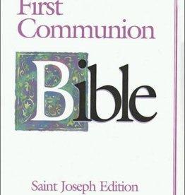Catholic Book Publishing Corp St. Joseph Edition New American First Communion Bible (Girls)