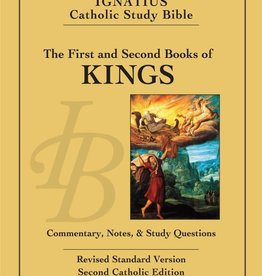 Ignatius Press 1 & 2 Kings Ignatius Catholic Study Bible