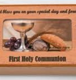 HJ Sherman Communion Keepsake Frame Box
