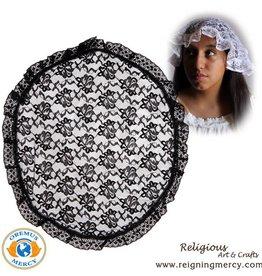 Oremus Mercy Circular Madonna Veil White
