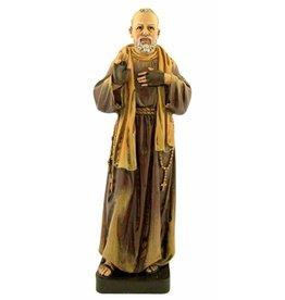"""Avalon Gallery 7 7/8"""" Patron Saint Padre Pio Resin Statue"""