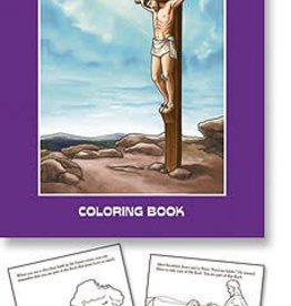 Christian Brands The Story of Lent Coloring Book
