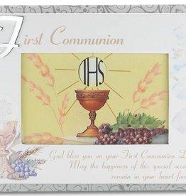 "WJ Hirten 6"" x 4"" First Communion Photo Frame"