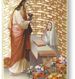 WJ Hirten First Communion Mosaic Plaque (Girl)