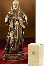 "Avalon Gallery Saint Padre Pio Statue, 6 """