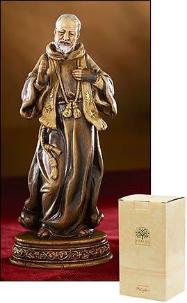 Avalon Gallery Saint Pio Statue
