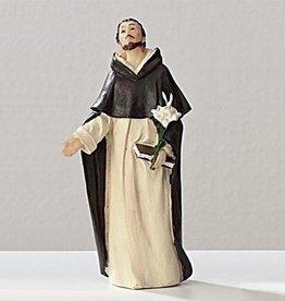 "Roman, Inc 4"" St. Dominic Statue"
