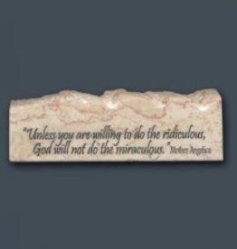 Holy Land Stone Mother Angelica - Inspirational/Scripture Stone